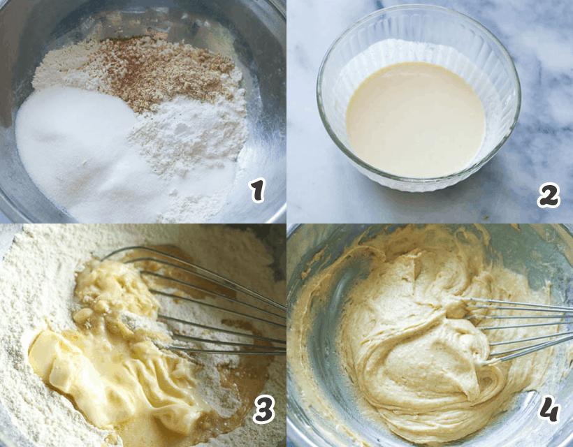 Pineapple Cake Batter