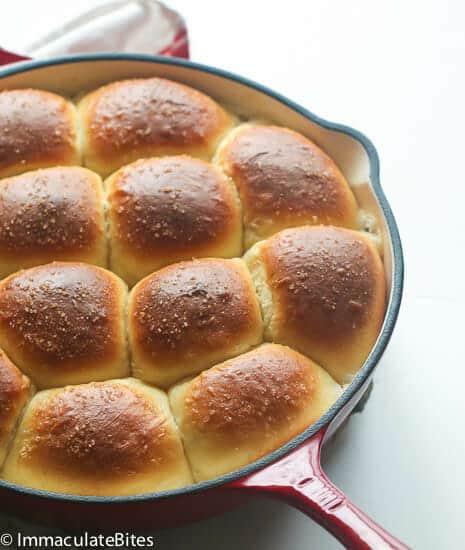 Samoan bread rolls