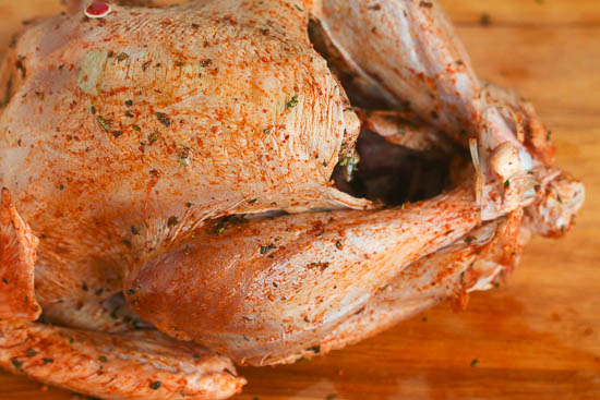 spiced herb turkey