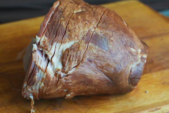 Pineapple Rum Glazed ham
