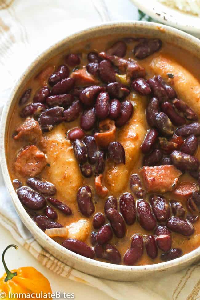 Jamaican peas stew