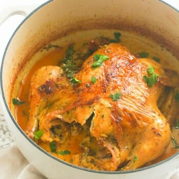 Braised Chicken in Coconut Milk