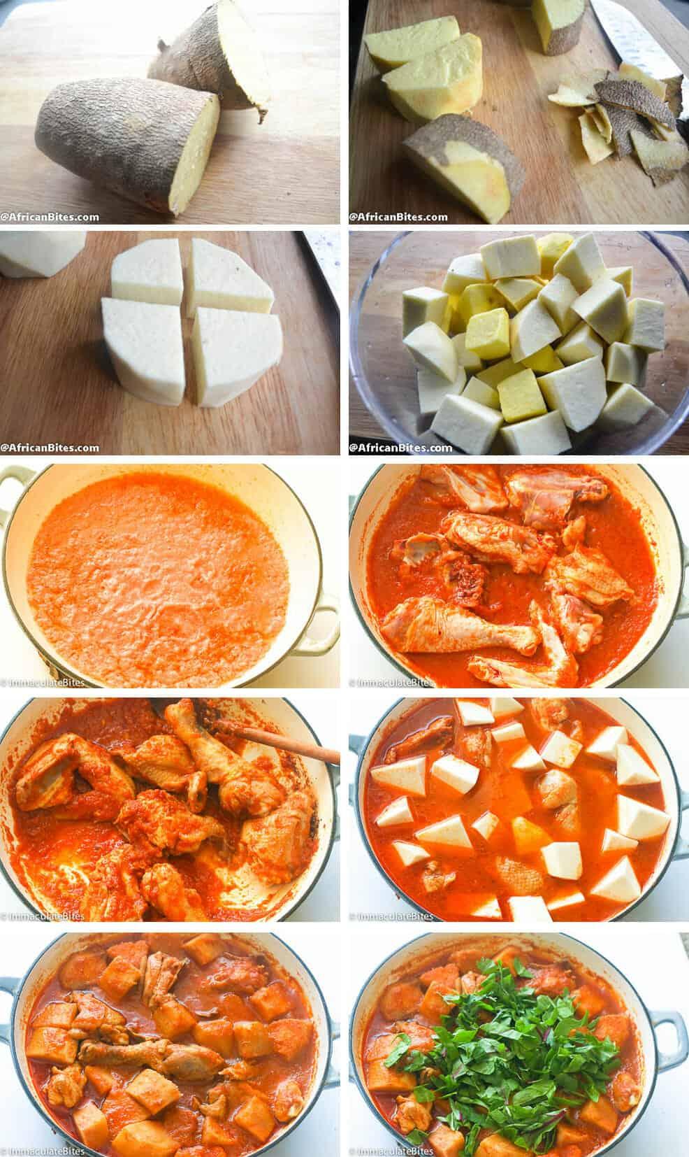 Porridge yams (Potash, Asaro)