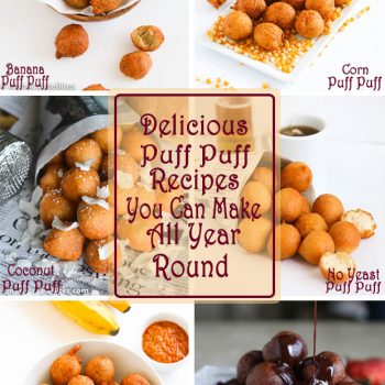 Puff Puff Recipes