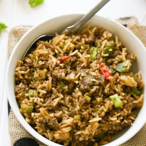 dirty rice recipe.2 - immaculatebites