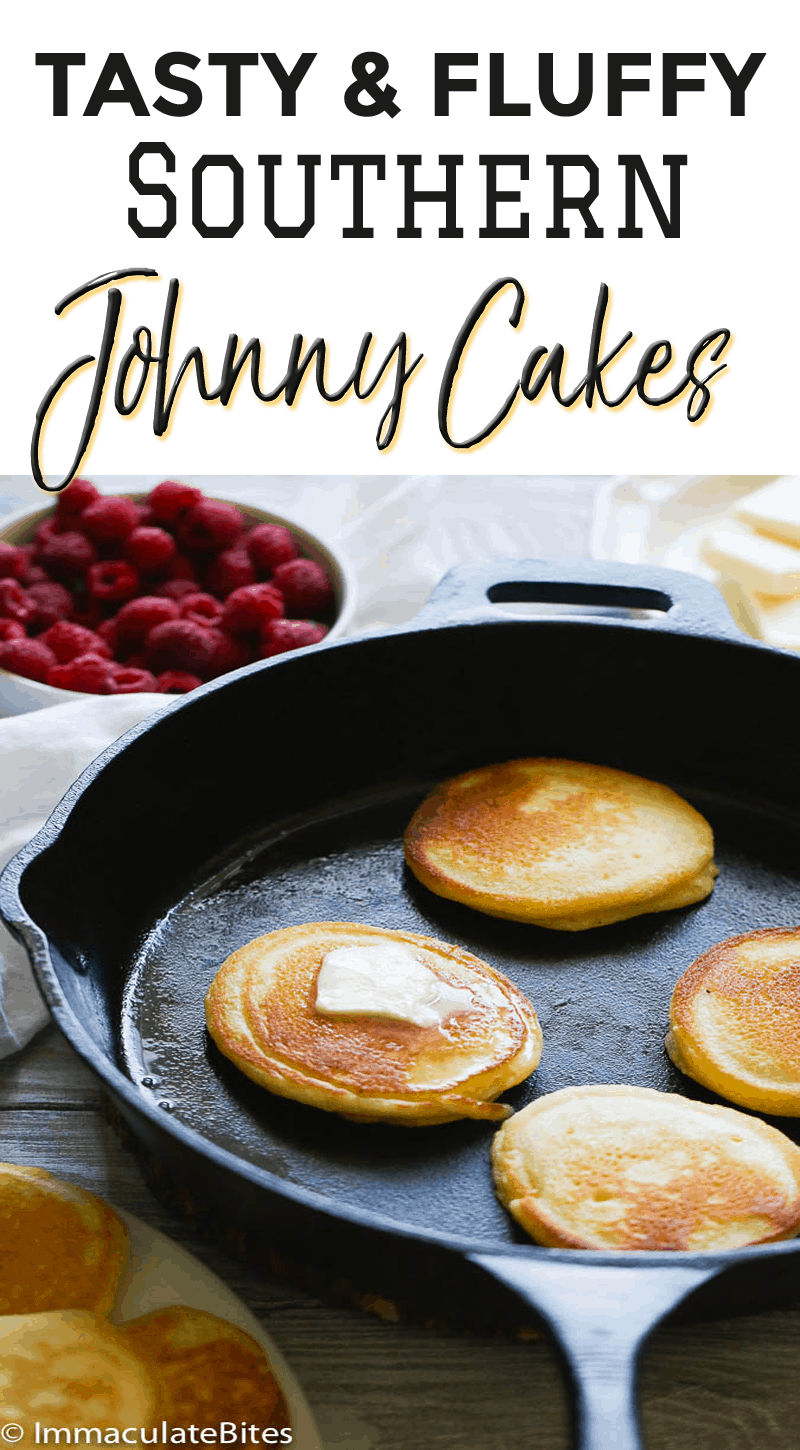 Southern Johnny Cakes Hoe Cakes Immaculate Bites