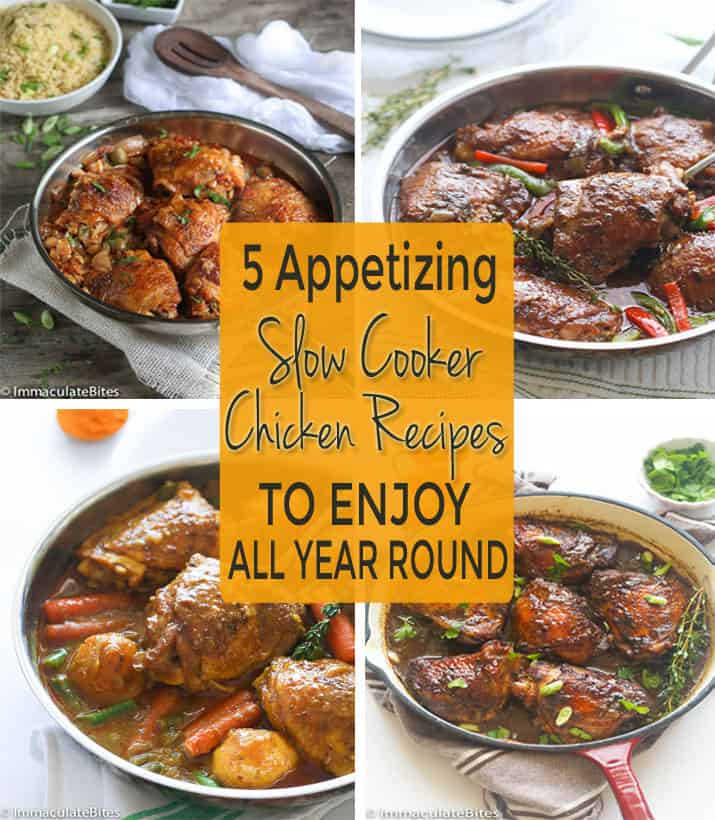 chicken slow cooker recipes