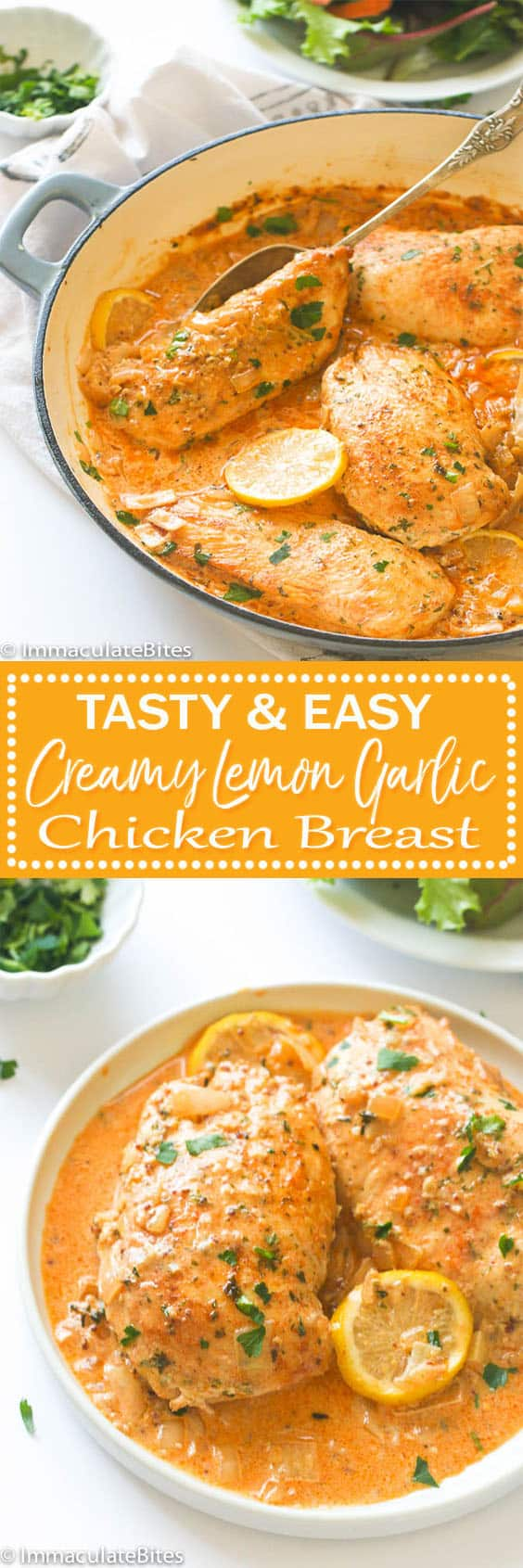 creamy lemon garlic chicken breast