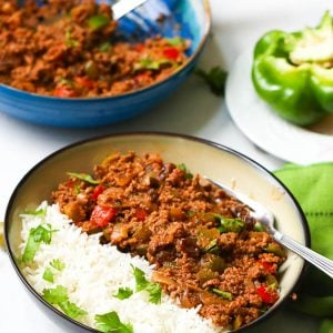 Picadillo with Rice