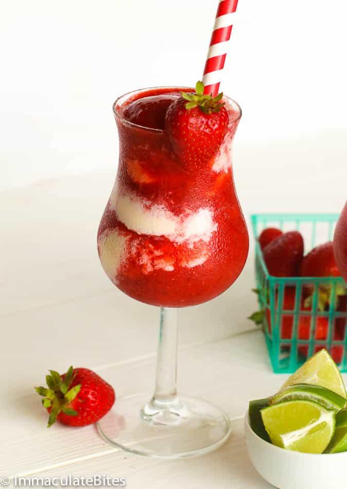 Strawberry Daiquiri Immaculate Bites