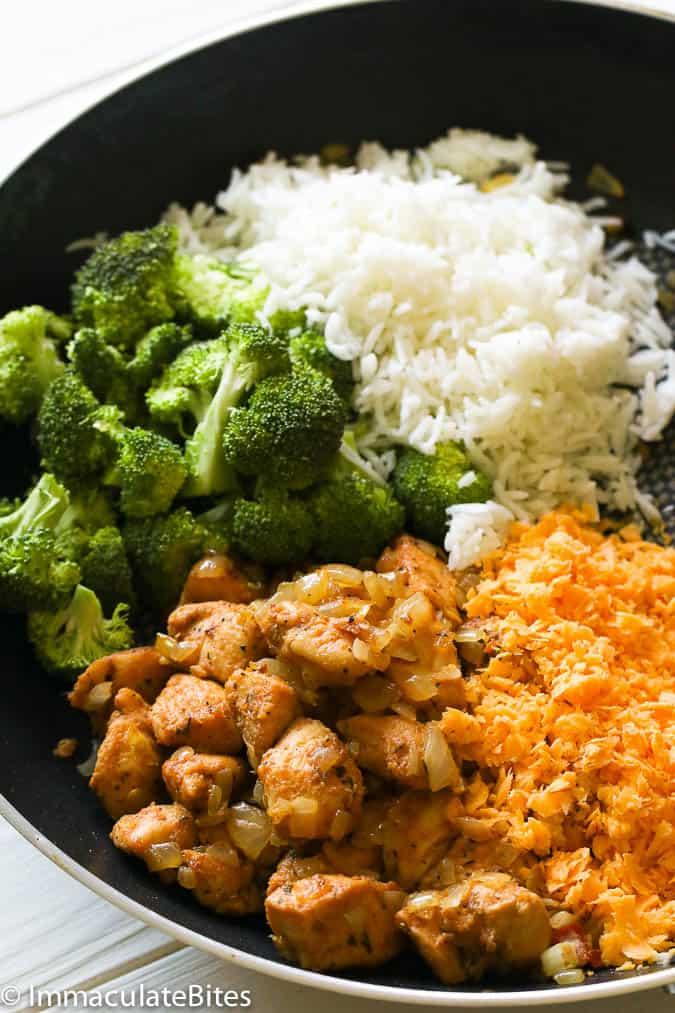 Chicken Broccoli Rice Casserole - Immaculate Bites-4894