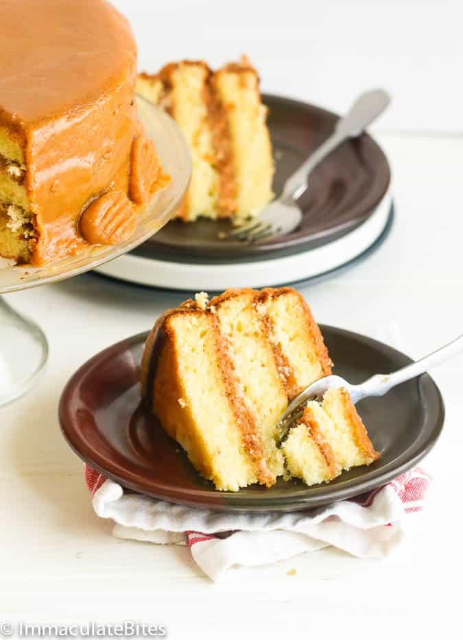 Caramel Cake Immaculate Bites