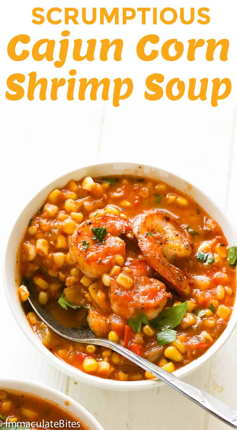 cajun corn shrimp soup