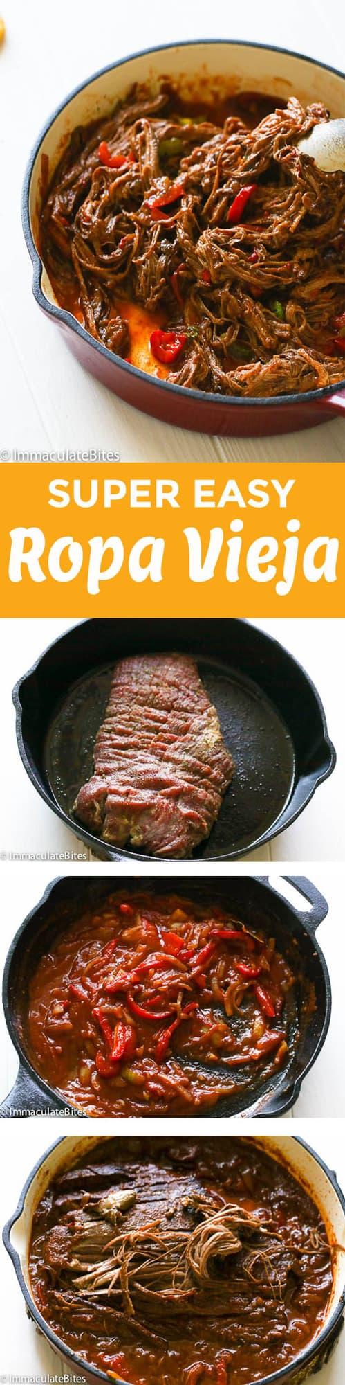 ropa vieja with steps