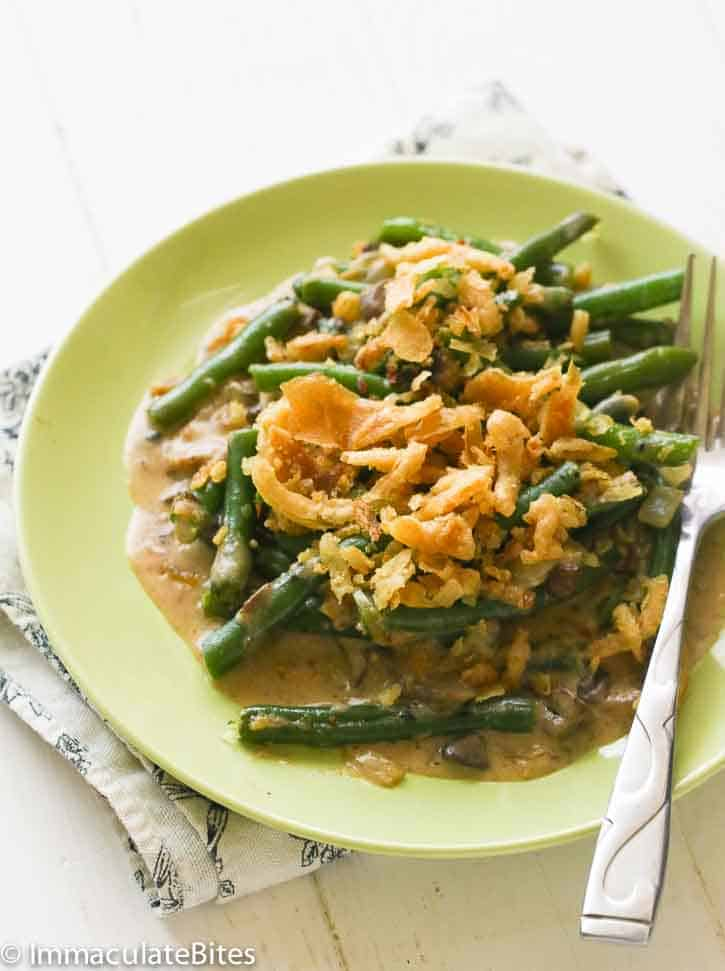 Green Bean Casserole From Scratch