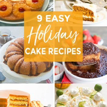 Easy Holiday Cake Recipes