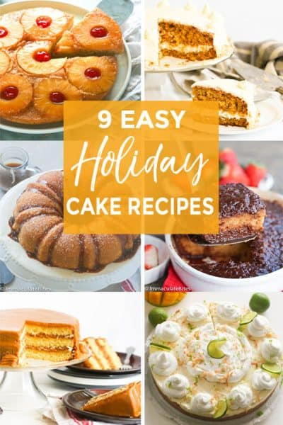 Holiday Easy Cake Recipes