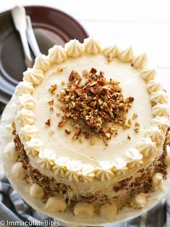 Italian Cream Cake Immaculate Bites