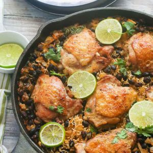 One Pot Lime Chicken and Rice