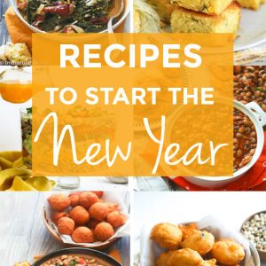 Recipes to Start the New Year
