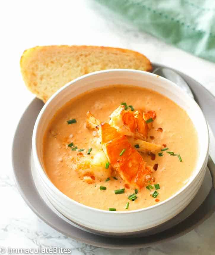 Lobster Bisque No Cream | Lobster House