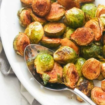 Balsamic Baked Brussel Sprouts