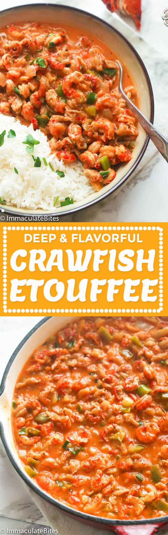 Crawfish Etouffee Immaculate Bites