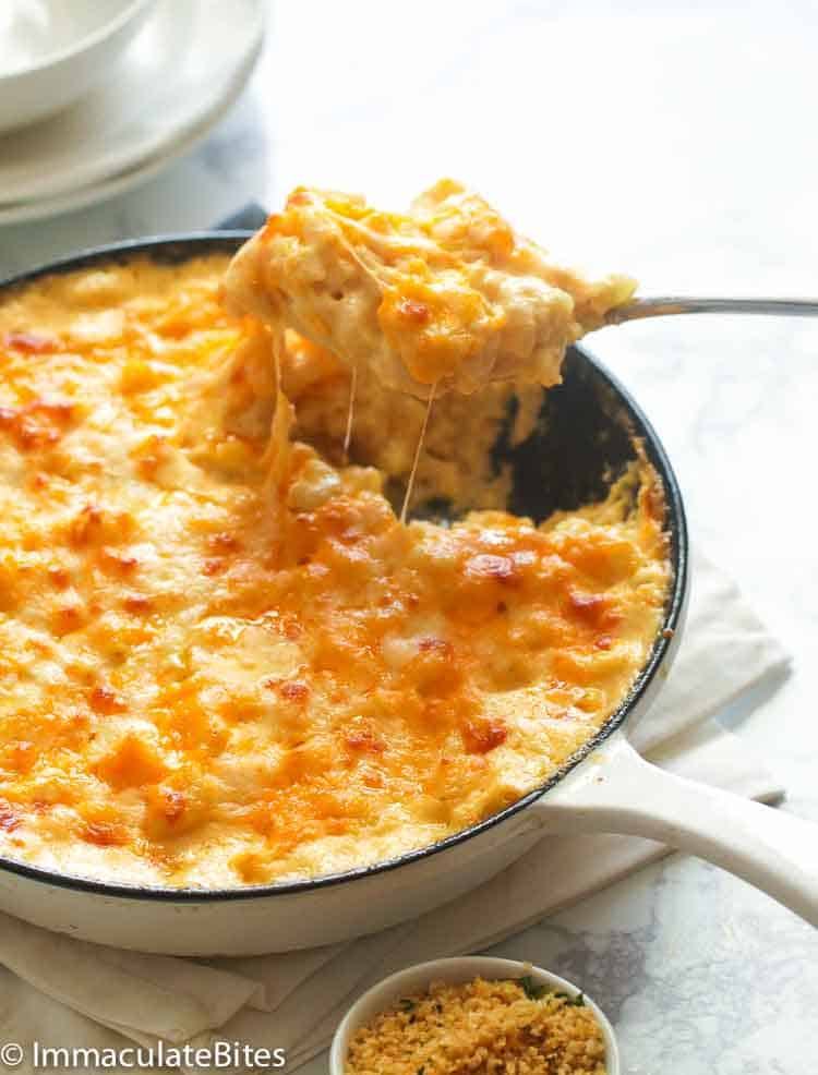 Southern Baked Mac and Cheese - Immaculate Bites