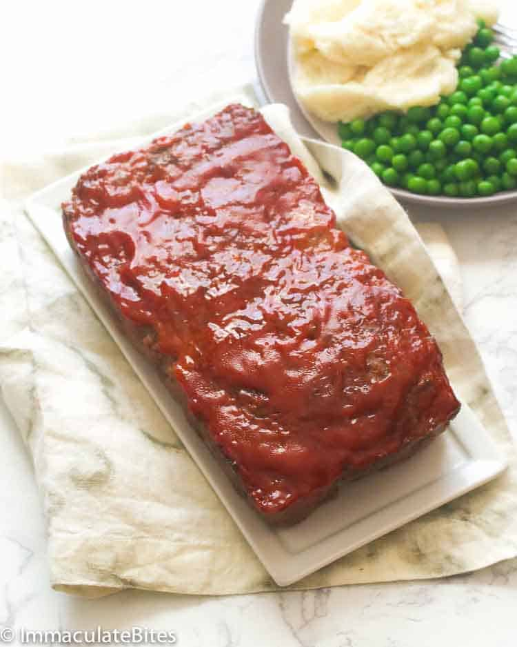 Easy Meatloaf with Glaze