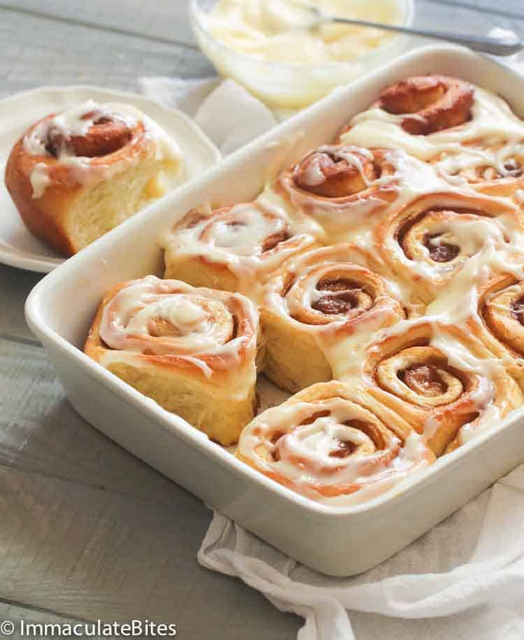 Favorite cinnamon bread recipe