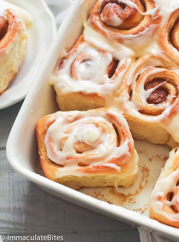 Cinnamon Bread Rolls Immaculate Bites