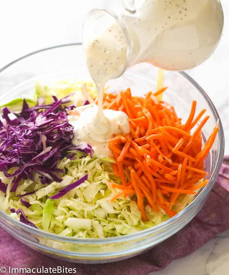 Creamy Cole Slaw Dressing Immaculate Bites