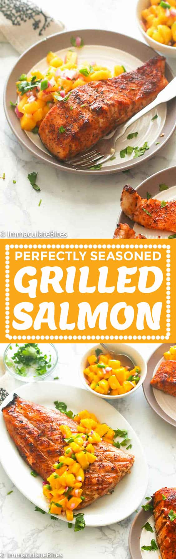 Grilled Salmon Recipe.