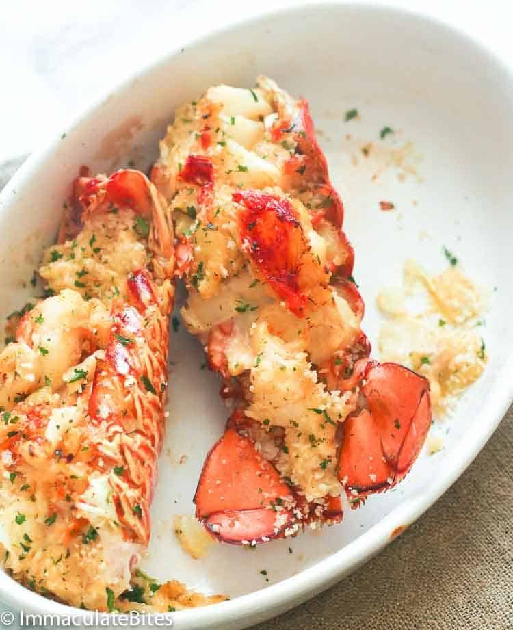 Lobster Thermidor Immaculate Bites