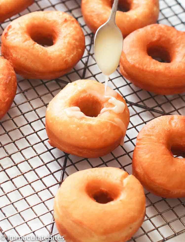 Krispy Kreme Donuts with Glazed