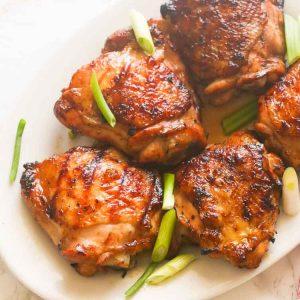 Hawaiian Grilled Chicken Thighs