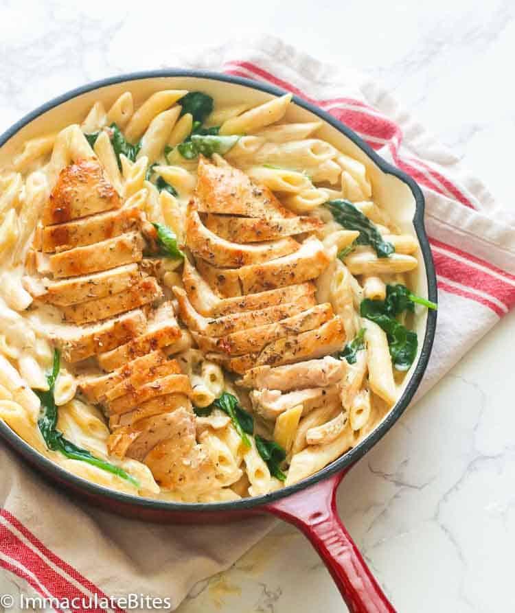 Chicken Alfredo Immaculate Bites