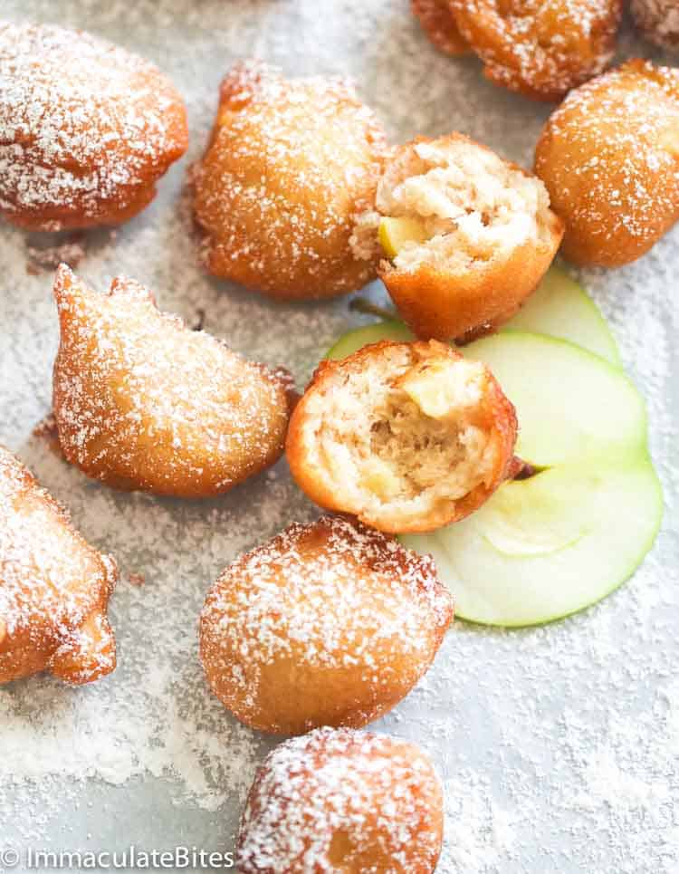 Fall Appetizers Apple Fritters