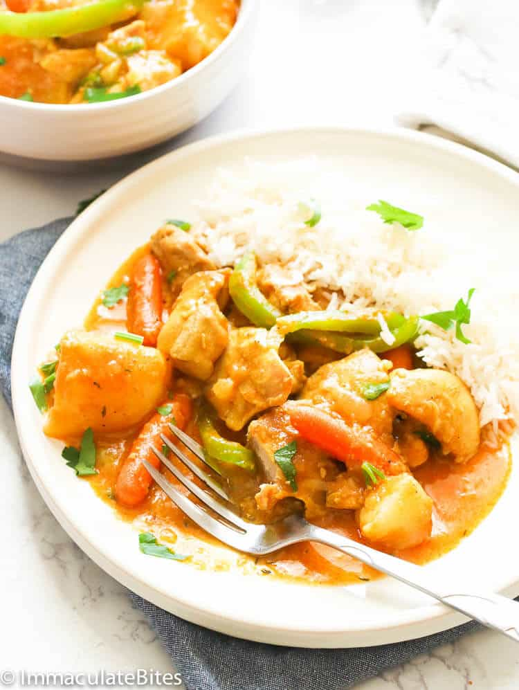 Chicken Curry Recipe Immaculate Bites