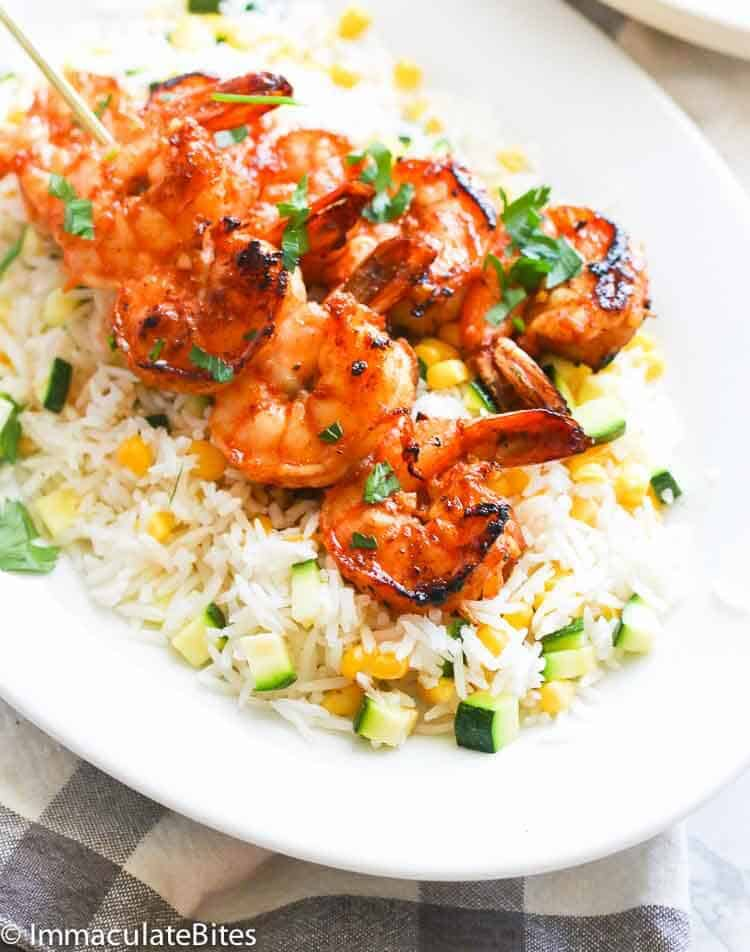Marinated Grill Shrimps