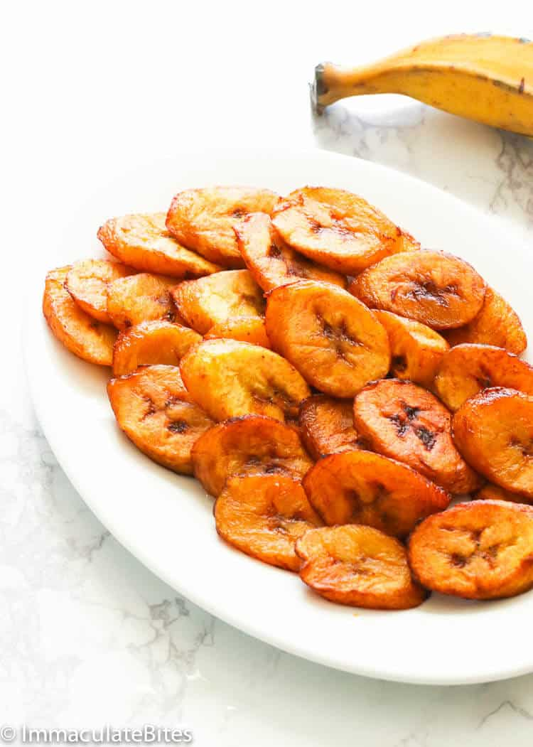 Fried Plantains Immaculate Bites