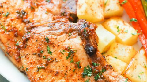 Oven Baked Pork Chops - Immaculate Bites