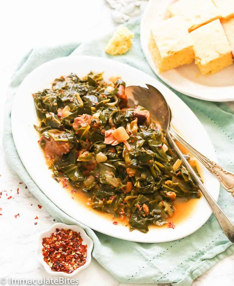 Collard Greens Recipe - Immaculate Bites