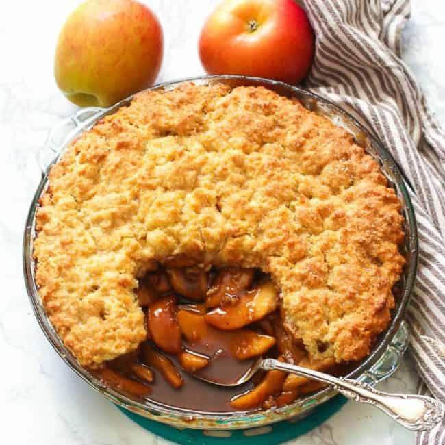 Easy Apple Cobbler Recipe