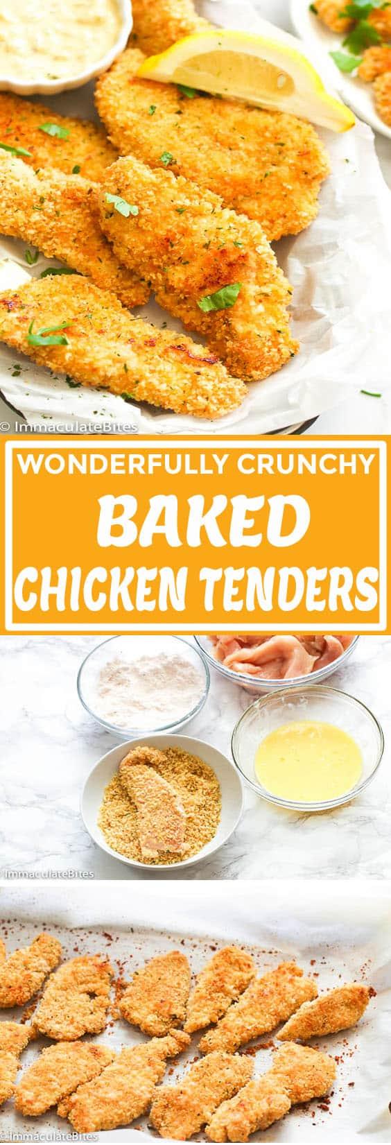 Bsaked Chicken Tenders