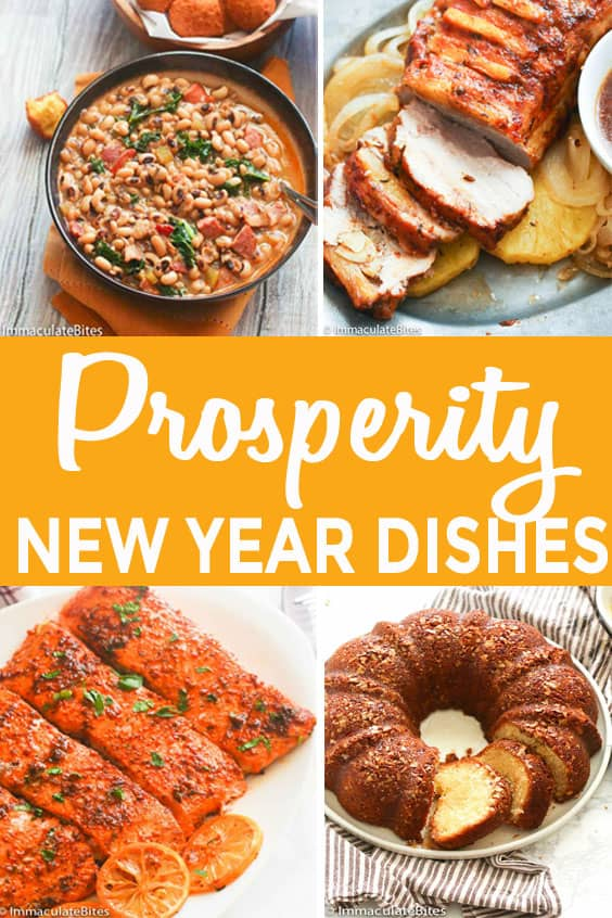 New Year Dishes for Prosperity