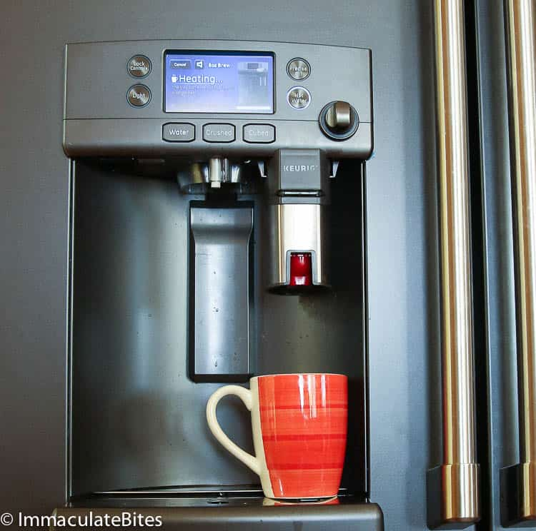 Cafe Appliances French Door with Keurig Brewer