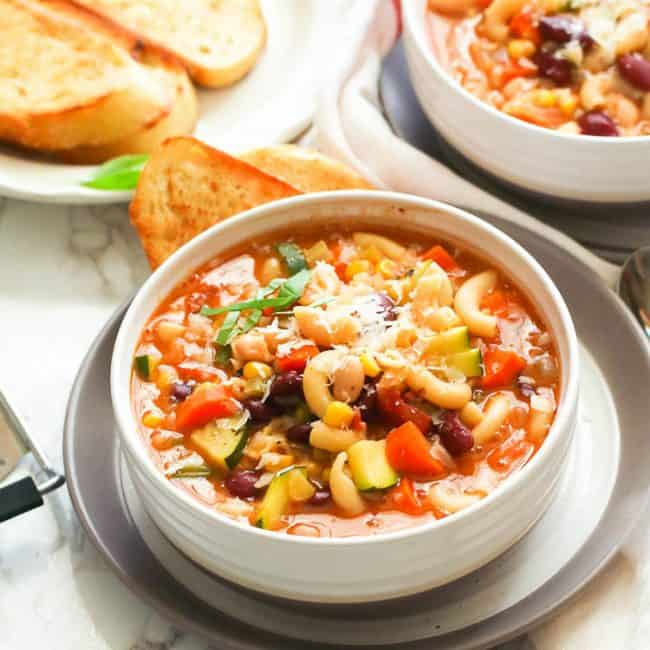 Minestrone with Navy Beans