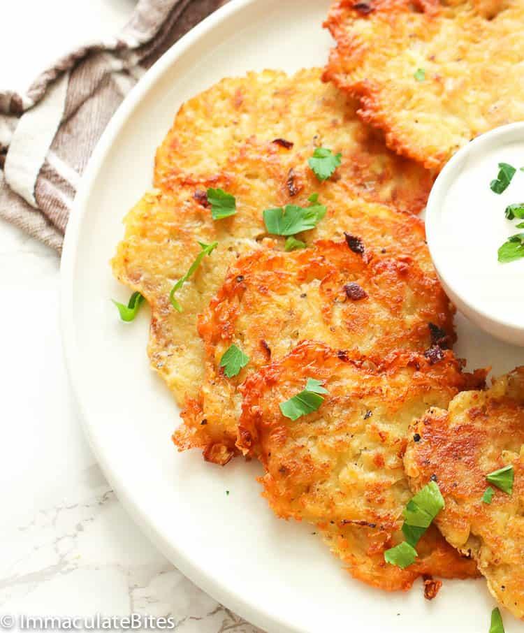 Potato Pancakes Immaculate Bites
