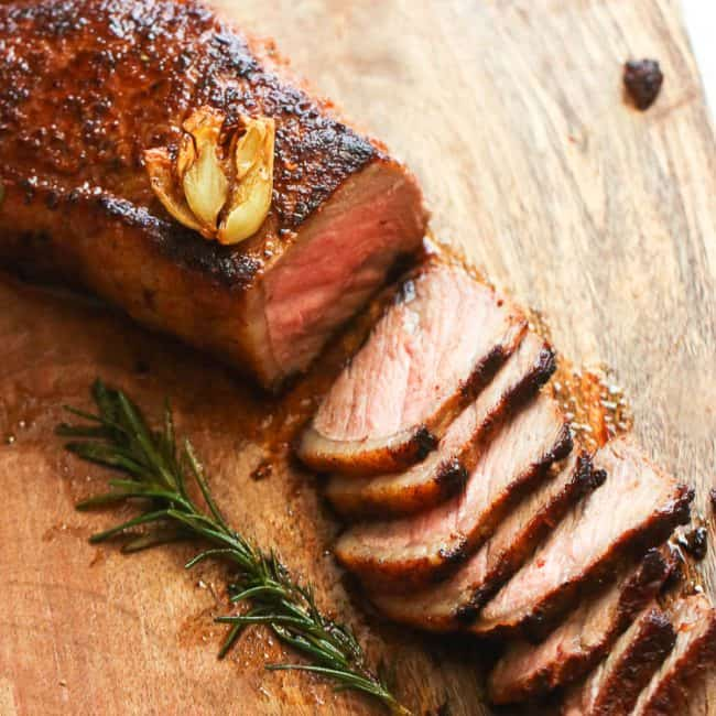 Oven roasted steak